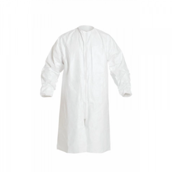 White Reuseable Gown 100% Polyester