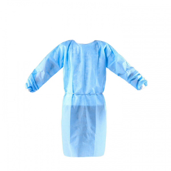 Blue Disposable Gown 100% propylene
