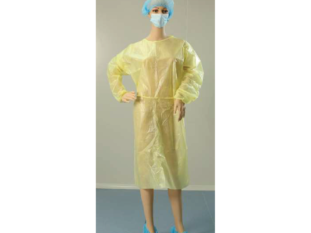 Isolation Gown non sterile yellow